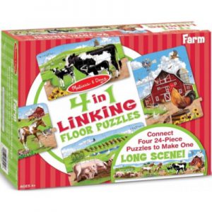 Farn Linking Floor Puzzle (96pc)
