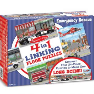 Emergency Rescue Linking Floor Puzzle (96 pc)