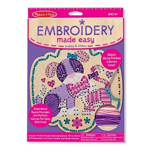 Embroidery Made Easy – Puppy/Kitten