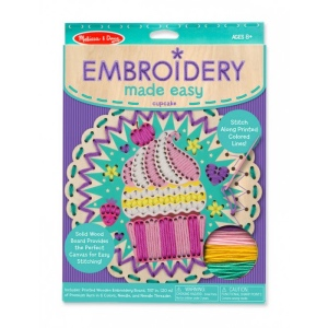 Embroidery Made Easy-Cupcake