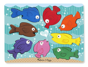Chunky Colourful Fish Puzzle