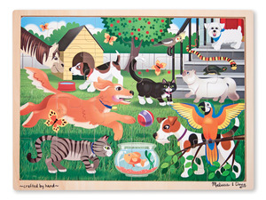 Pets wooden Jigsaw 24PC