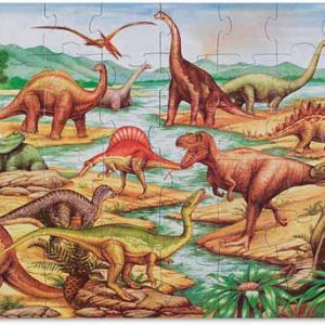 Dinosaur Floor Puzzle 48pc