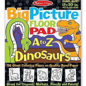 Big Picture Easel Pad – Dinosaurs