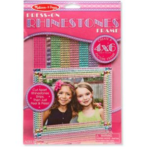Press-on Rhinestones-Frame