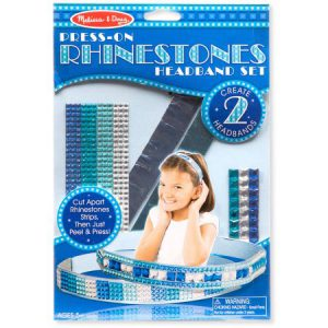 Press-on Rhinestone Headbands
