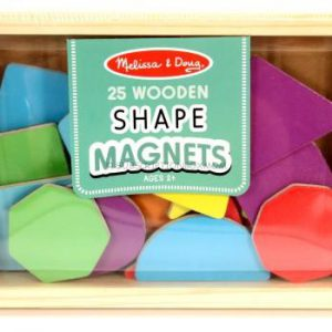 Magnetic Wooden Shapes & Colours