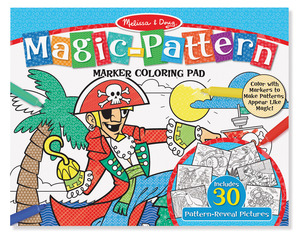 Blue Magic Pattern Colouring Pad