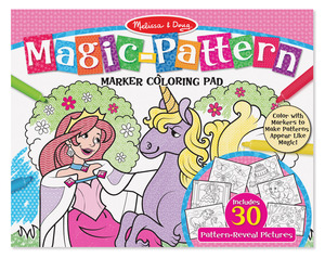 Pink Magic Pattern Colouring Pad