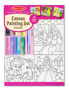 Canvas Painting Set – Princess
