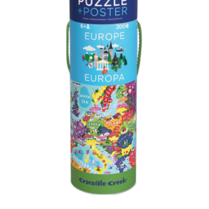 Europe 200 pc Poster & Puzzle
