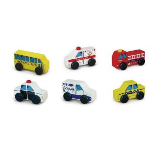 City Vehicles 6 pcs Set