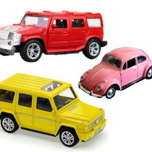 Die Cast Cars Set of 3 Yellow