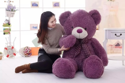 Giant Soft Bear (157cm) in Assorted Colours