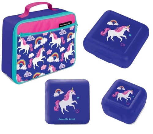 fba4ab62b0da Lunchbox Set of 6 Unicorn – Pollypotters Toystore