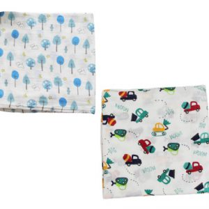 Muslin 2 Set Blanket Boy Car
