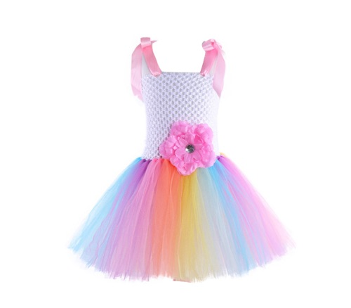 69147b0798 Princess Dress Pastel Rainbow – Pollypotters Toystore