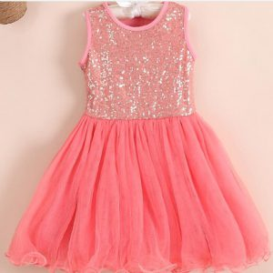 Kids Mesh Lace Dress