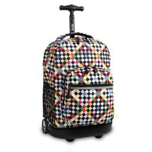 Checkers Rolling Backpack Medium (46X32X22CM)