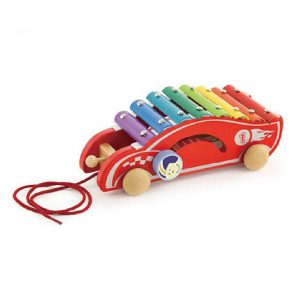 Pull Along Xylophone Racing Car