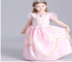Little Princess Gown (Pink)