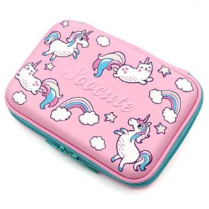 Unicorn Rainbows Pencil Case