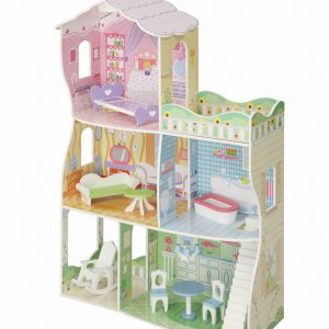 Joanne's Mansion Doll House with Furniture