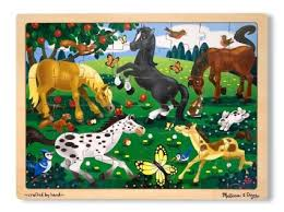Frolicking Horses 48pc