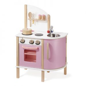 Candy Floss Kitchen with Cook Ware and Accessories (82X31X54cm)