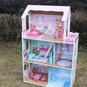 Princess Dollhouse with Furniture