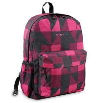 Block Pink Backpack (43X33X16CM)