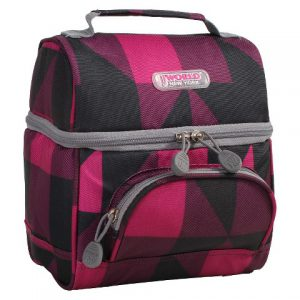 Block Pink Lunchbox