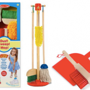 Lets Play House! Dust, Sweep & Mop