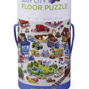 50 pc Busy City Canister/Floor Puzzle