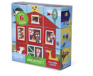 9 pc Jumbo Little Architect Boy