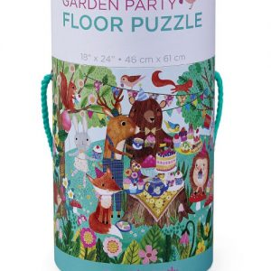 50 pc Garden Party/Canister/Floor Puzzle