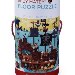 50 pc Ahoy Matey Canister/Floor Puzzle