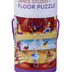 50 pc Dance Canister/Floor Puzzle