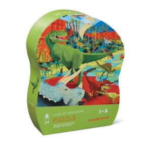 36 pc Shaped Puzzle/Land of Dinosaur