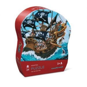 24 pc Mini Puzzle/Pirates