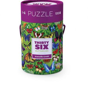 100 pc 36 Animal Puzzle/Butterflies