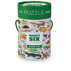 100 pc 36 Animal Puzzle/Reptiles & Amphibians