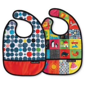 Kid's World Bib Set of Two