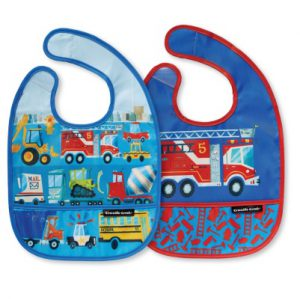 Busy City Bib Set of Two