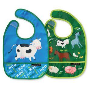 Barnyard Banter Bib Set of Two