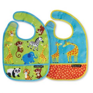 Little Jungle Bib Set of Two
