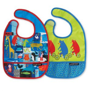 ABC Bears and Friends Bib Set  of Two