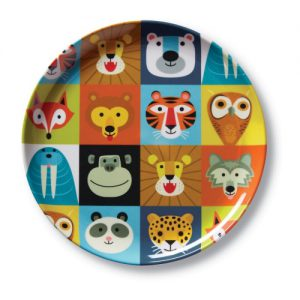 Jungle Jamboree Big Kid Plates