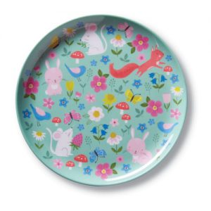 Backyard Friends Big Kid Plates