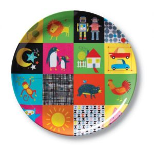 Kid's World Big Kid Plate
